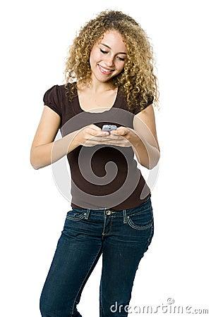 Female Texting
