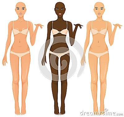 Female torsos