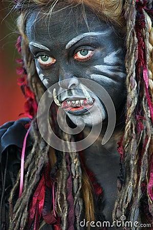 Free Female Trol Royalty Free Stock Photography - 141807