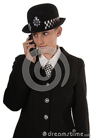 Female UK Police Officer