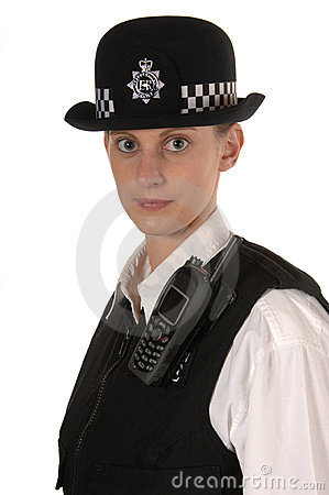 Female UK Police Officer