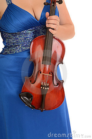 Female Violin Concert Gown