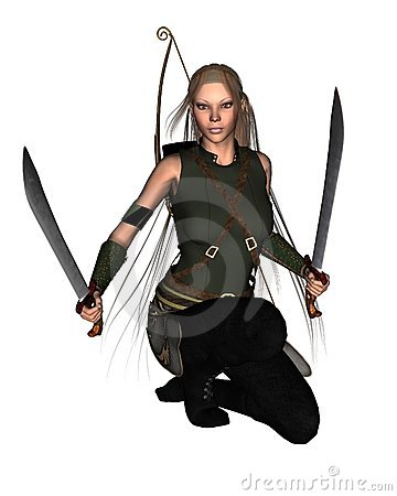 Female Warrior - 1