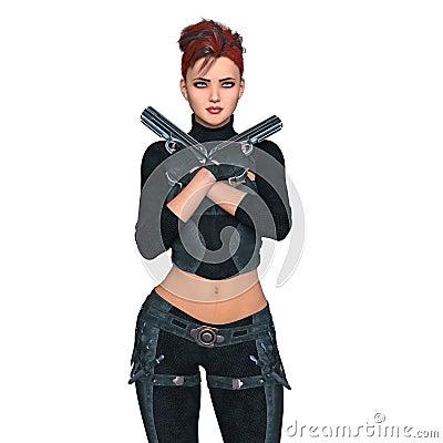 Free Female Warrior Stock Photos - 71548693