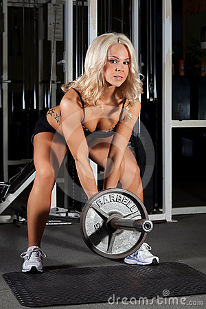 Female Weight Lifter