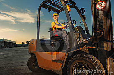 Female Worker Stock Photo - Image: 9590900