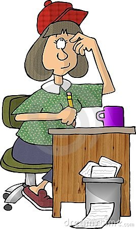 Free Female Writer Stock Images - 47294