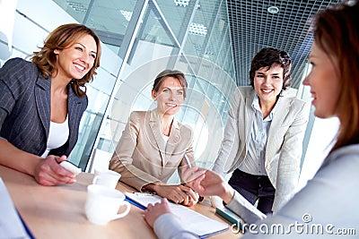 Females at meeting