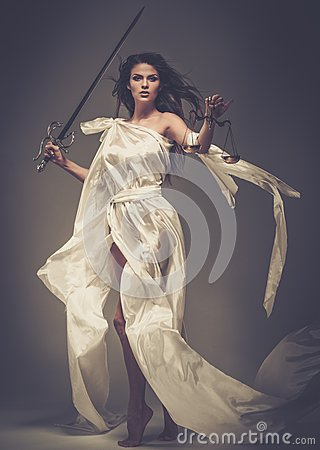 Free Femida, Goddess Of Justice Stock Images - 38917424