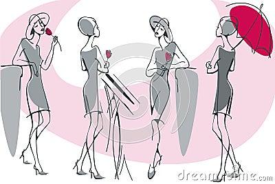 Feminine silhouette 2.