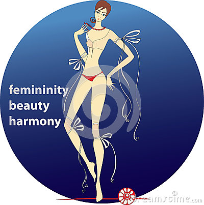 Femininity.beauty.harmony