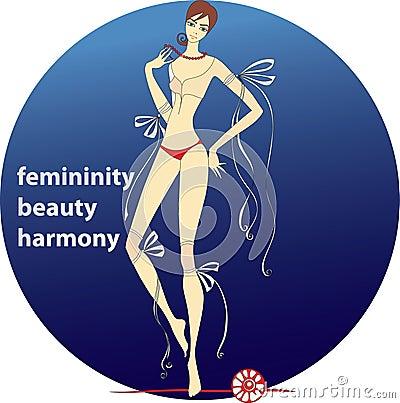 Femininity.beauty.harmony