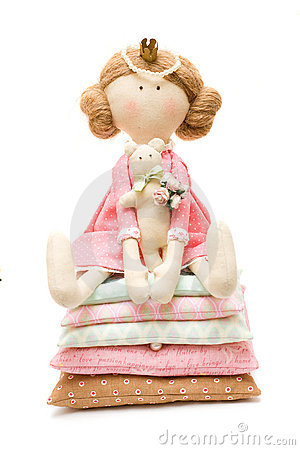 Femininity Concept - Doll Princess Royalty Free Stock Photos - Image: 22492178