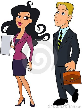 Rencontres des hommes d'affaires