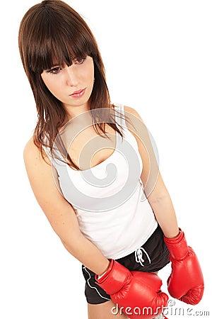 Femme de boxe