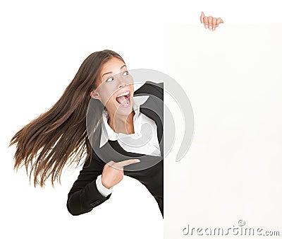 Femme de signe