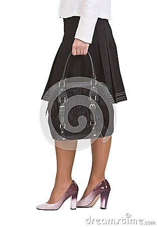 Femme du sac s