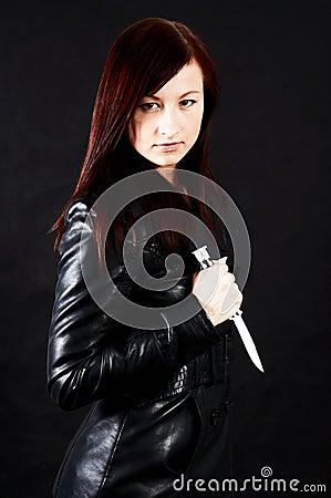 Femme fatale - black
