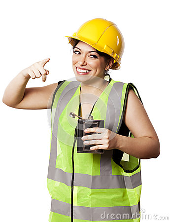 Femme ivre de sécurité d alcool