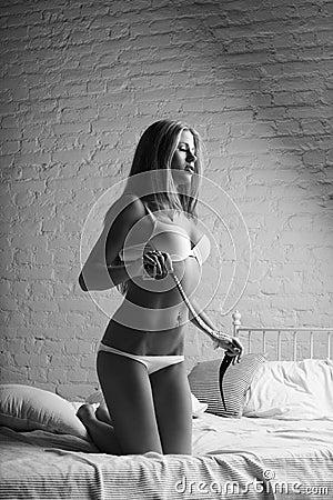 Femme sensuel