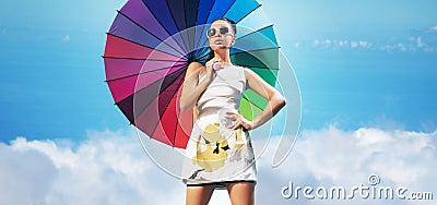 femme sensuelle avec le parapluie color photos 16 femme sensuelle avec le parapluie color images photographies clichs dreamstime - Parapluie Color