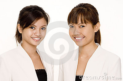 Femmes dans le blanc 1