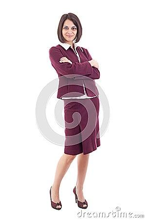 Femmina che si nasconde sopra l ombrello variopinto