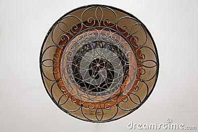 fen tre arrondie photos stock image 34747883. Black Bedroom Furniture Sets. Home Design Ideas