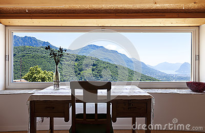 fen tre panoramique photo libre de droits image 25287255. Black Bedroom Furniture Sets. Home Design Ideas