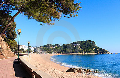 Fenals beach (Costa Brava, Spain)