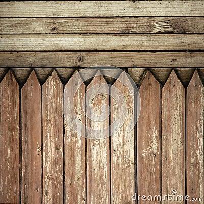 Fence weathered