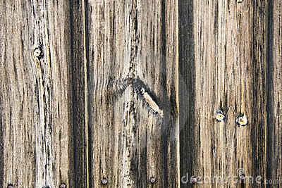 Fence weathered wood
