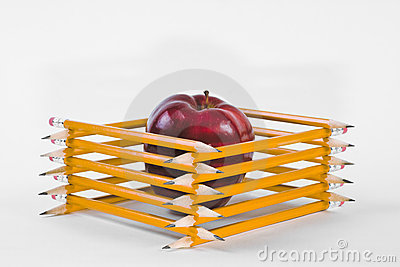 Fenced-in Apple