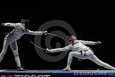Fencing Editorial Stock Photo