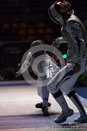 Fencing Cup Torino 2013 Editorial Photography