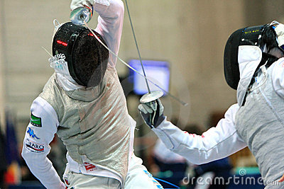 FENCING WORLD CUP: Foil Venice s Trophy - BALDINI Editorial Photo