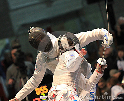 FENCING WORLD CUP: Foil Venice s Trophy - BALDINI Editorial Image