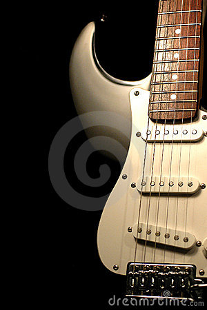 Free Fender Stratocaster Guitar. Royalty Free Stock Images - 486229