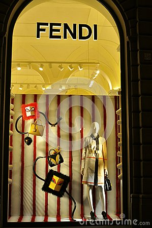 Fendi fashion brand shop in florence italy editorial for Dream store firenze