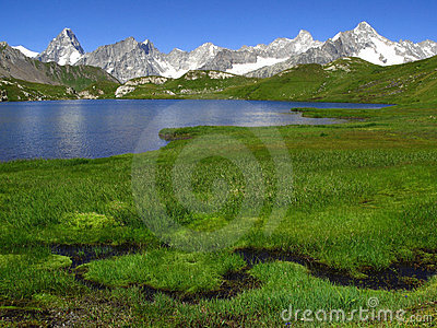 Fenetre Lakes 2, European Alps