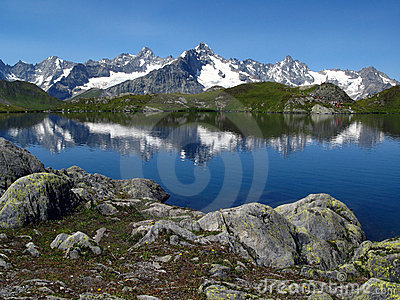 Fenetre Lakes 7, European Alps