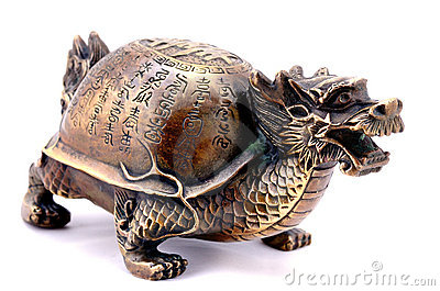 Feng Shui. Turtle-Dragon