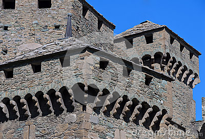 Fenis Castle - Aosta Valley - Italy