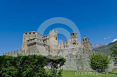 Fenis Castle - Aosta Valley - Italy