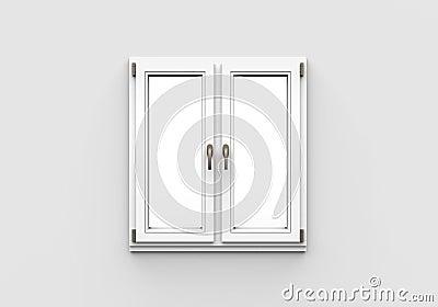 fen tre en plastique ferm e sur le fond blanc photo stock image 29949650. Black Bedroom Furniture Sets. Home Design Ideas