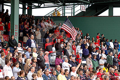 Fenway Faithful Editorial Stock Image