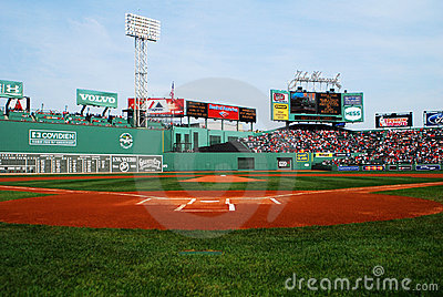 Fenway Park, Boston, MA Editorial Photography