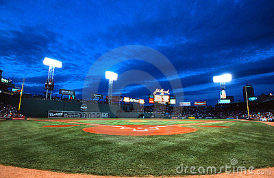 Fenway Park, Boston, MA Editorial Stock Photo