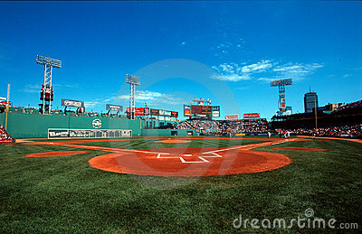 Fenway Park, Boston, MA Editorial Photo