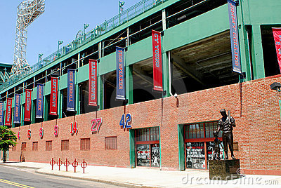 Fenway Park, Boston, MA Editorial Stock Image